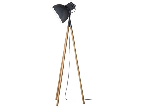 Frandsen Industry Black Floor Lamp