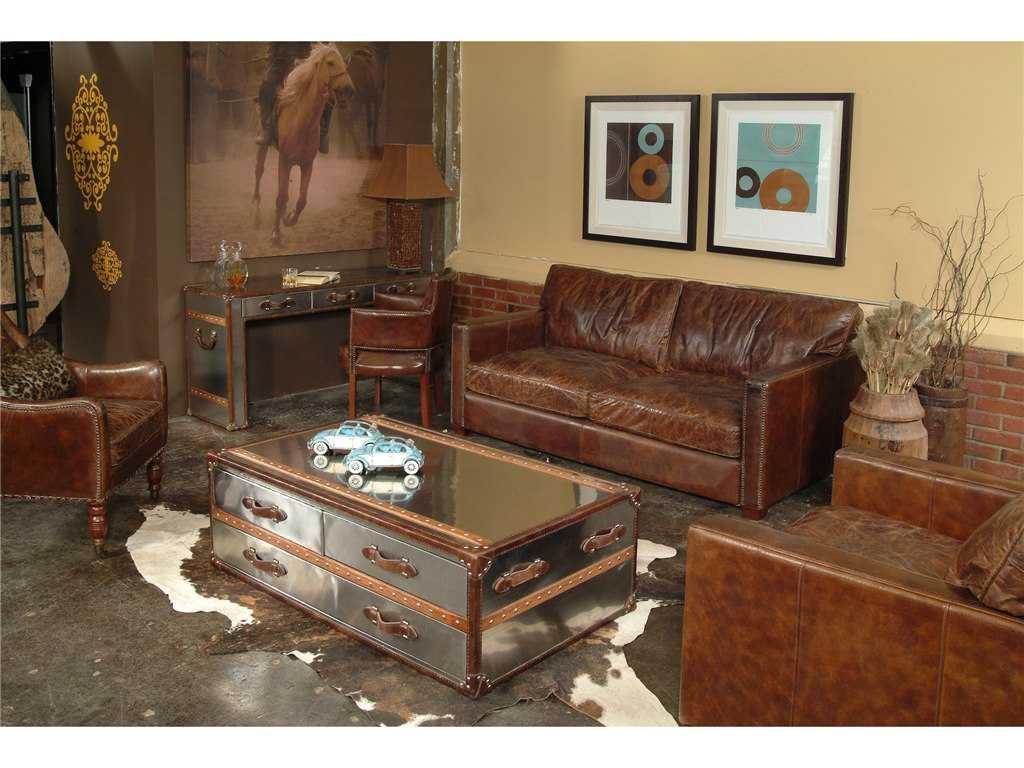 Four Hands Carnegie Cigar Larkin Club Chair FSCCAR22