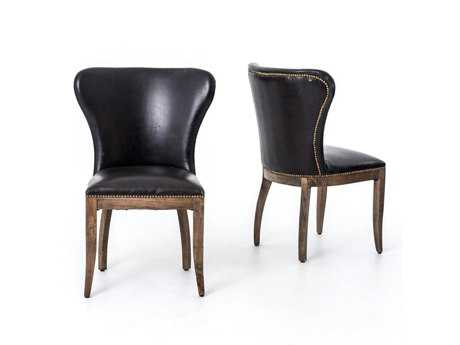 Four Hands Carnegie Old Saddle Black Richmond Dining Chair