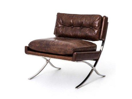 Four Hands Carnegie Cigar Heathrow Lounge Chair