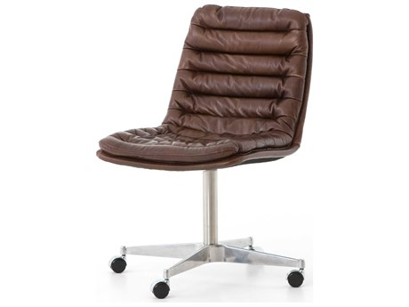 Four Hands Carnegie Antique Whiskey Malibu Desk Chair