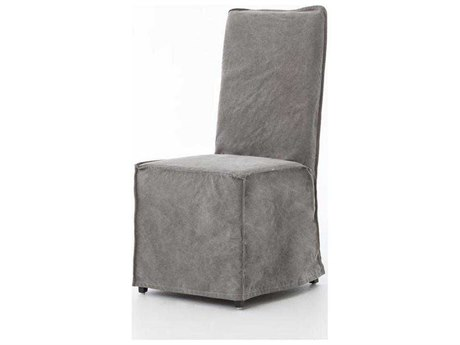 Four Hands Irondale Stonewash Grey Downey Dining Chair