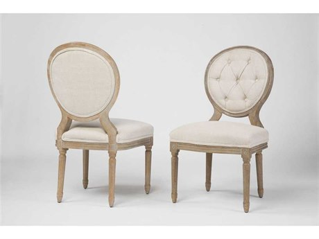Four Hands Kensington Bespoke Natural Stella Dining Chair