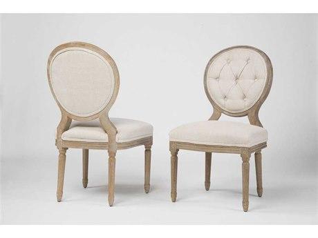 Four Hands Kensington Bespoke Natural Stella Dining Chair