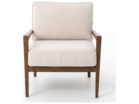 Four Hands Kensington Bespoke Laurent Wood Frame Accent Chair