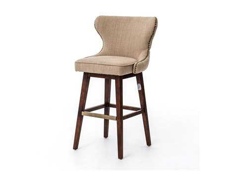 Four Hands Metro Hyde Clay Julie Swivel Barstool