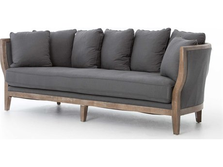 Four Hands Kensington Finn Charcoal Hayes Sofa