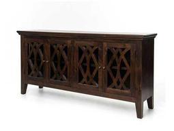 Four Hands Saviano 80 x 20 Rectangular Antique Brown Azalea Sideboard With 4 Doors