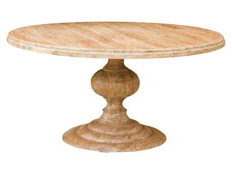 Four Hands Magnolia 60 Round Natural Dining Table
