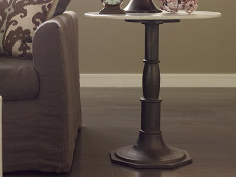 Four Hands Rockwell 24'' Wide Round Pedestal Table