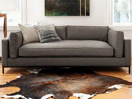 Four Hands Atelier Bennett Charcoal Grammercy Sofa