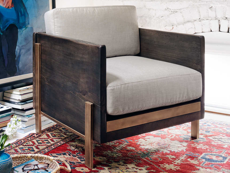 four hands wesson woodrow bennett moon accent chair
