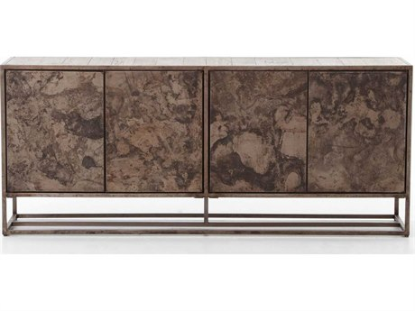 Four Hands Wesson Roman Oxidized Bronze Sideboard