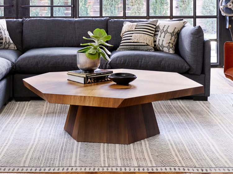 Four Hands Wesson Blonde Yukas 53 Wide Coffee Table