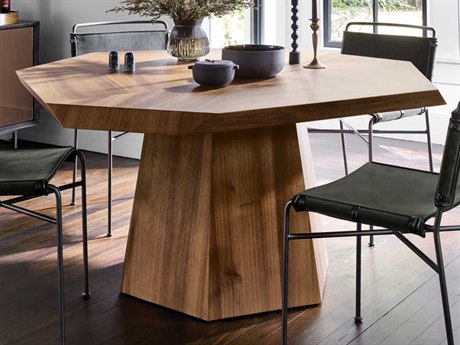 Four Hands Wesson Blonde Yukas 60'' Wide Dining Table FSUWES184