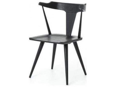 Four Hands Belfast Ripley Black Oak Dining Chair