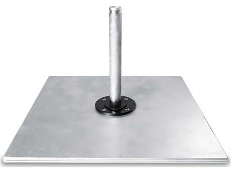 Frankford Aurora Galvanized Steel Matte Silver Plate Stack