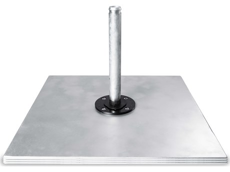 Frankford Eclipse Galvanized Steel Matte Silver Max Plate Stack PatioLiving