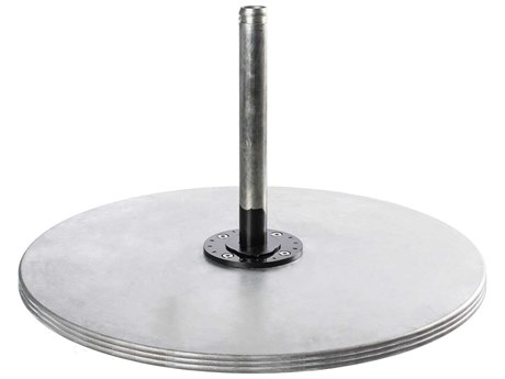 Frankford Monaco Galvanized Steel 40''Wide Round Stackable Plate PatioLiving