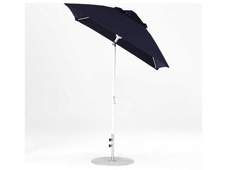 Frankford Monterey Market Fiberglass 6.5' Square Crank Auto Tilt Umbrella