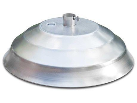Frankford Aluminum Shell 18''Wide Round Umbrella Base PatioLiving