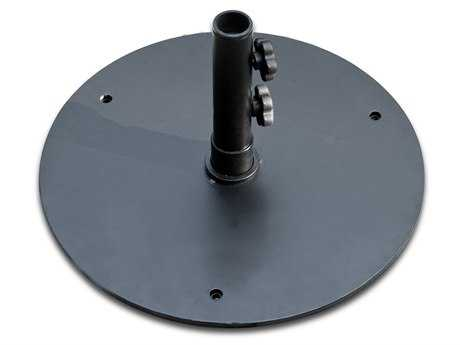 Frankford Steel 50 lbs Black Umbrella Base