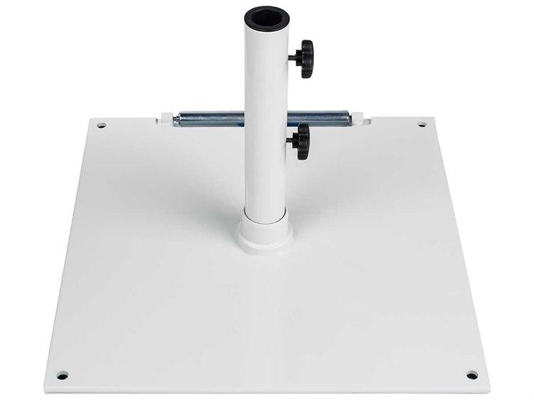 frankford steel 75 lbs white umbrella base | 75s-wh 75 Lb Umbrella Stand