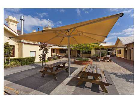 Frankford Nova Giant Center 13 Foot Wide Square Telscoping Crank Umbrella