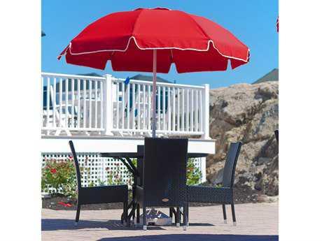 Frankford Catalina Fiberglass Patio 7.5 Foot Wide Octagon Manual / Tilt Umbrella