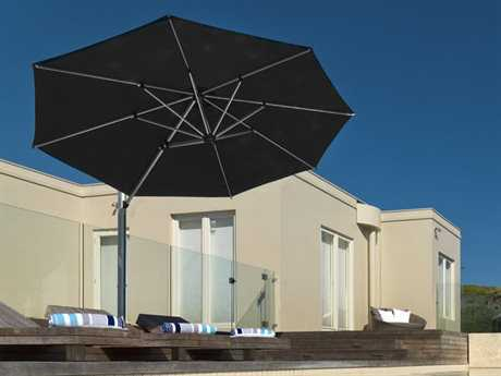 Frankford Aurora Premium Cantilever 11 Foot Wide Octagon Crank Lift Umbrella
