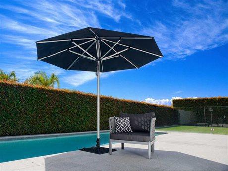 Frankford Monaco Premium Center 13 Foot Wide Octagon Double Pulley Umbrella