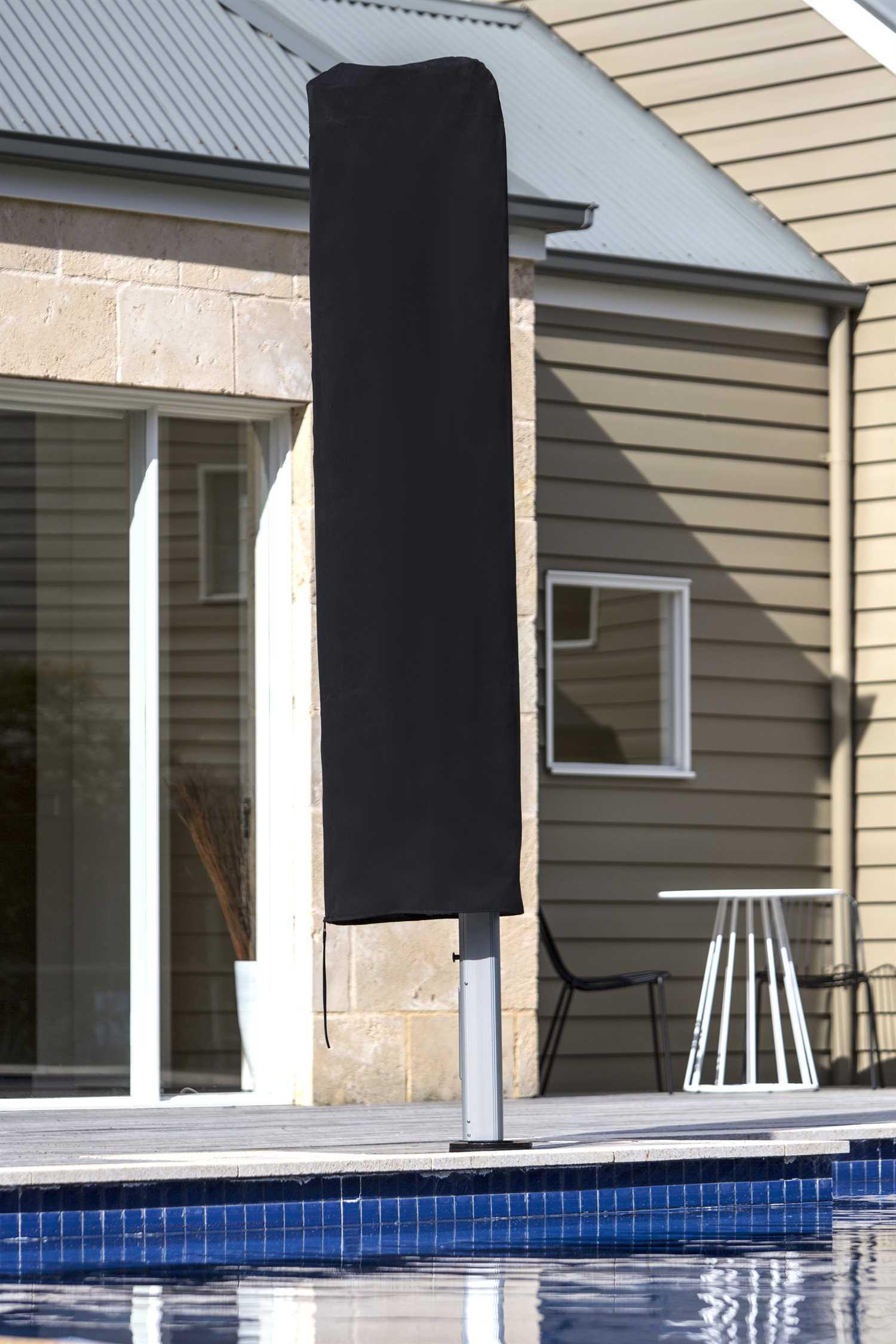 Patio Umbrella Accessories Replacement: Frankford Protective Cover For Aurora Cantilever Umbrellas