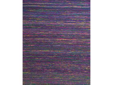 Feizy Rugs Arushi Rectangular Purple Area Rug
