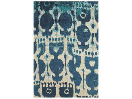 Feizy Coronado Rectangular Blue Area Rug