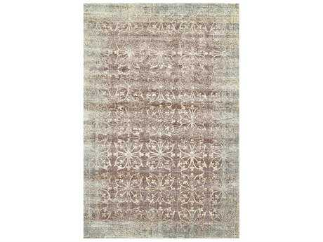 Feizy Fiona Rectangular Smoke Area Rug
