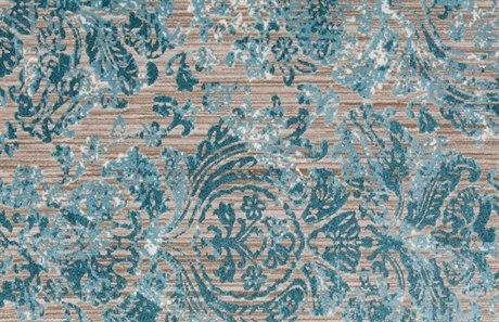 Feizy Keats Rectangular Aqua Area Rug