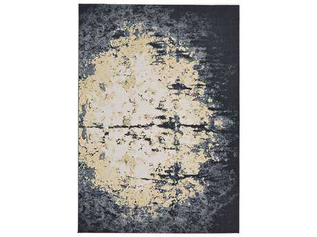 Feizy Bleecker Rectangular Charcoal Area Rug