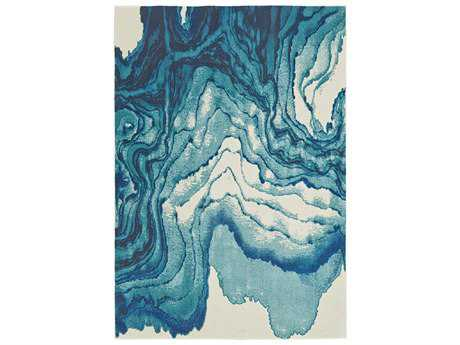 Feizy Brixton Rectangular Atlantic Area Rug