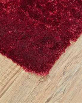 Feizy Indochine Rectangular Cranberry Area Rug