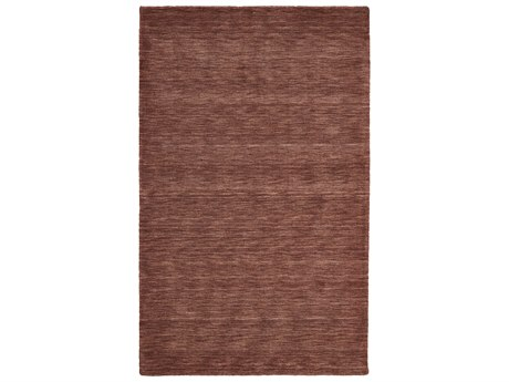Feizy Luna Rectangular Rust Area Rug