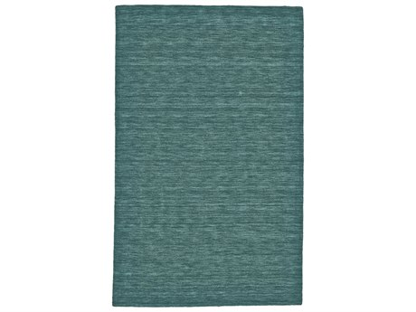 Feizy Luna Rectangular Teal Area Rug
