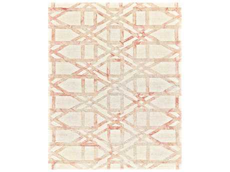 Feizy Lorrain Rectangular Blush Area Rug