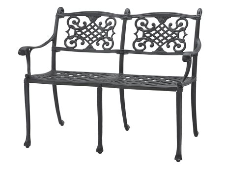 Gensun Michigan Cast Aluminum Cushion Bench - Knock Down
