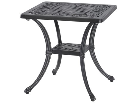 GenSun Michigan Cast Aluminum 21 Square End Table