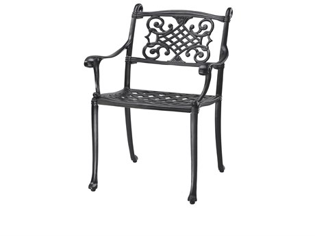 Gensun Michigan Cast Aluminum Cushion Dining Chair - Welded