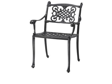 GenSun Michigan Cast Aluminum Cushion Dining Chair - Welded