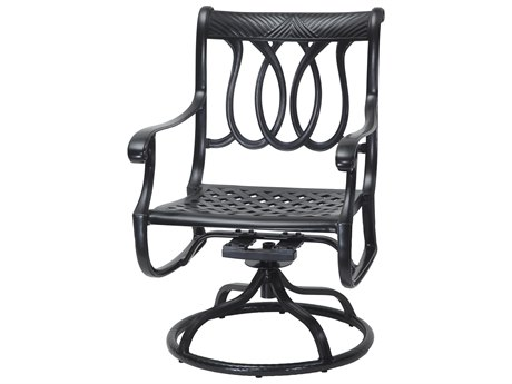 GenSun Largo Cast Aluminum Cushion Swivel Rocker