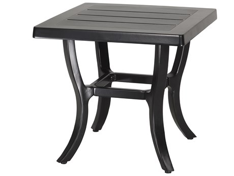 GenSun Channel Aluminum 22 Square End Table