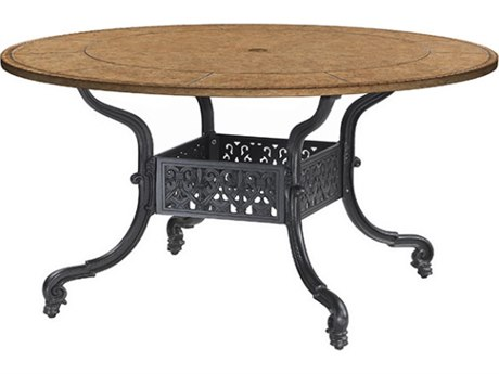 GenSun Florence Cast Aluminum 48 Round Dining Table Base