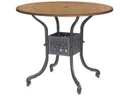 Florence Cast Aluminum 48 Round Bar Table Base